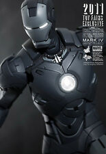 HOT TOYS MMS153 IRON MAN 2 - IRON MAN MARK IV SECRET PROJECT