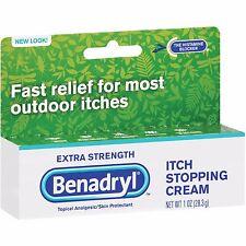 Benadryl Extra Strength Itch Stopping Cream - 1 oz (3 PACK)