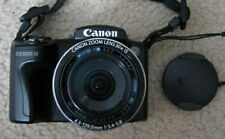 PLEASE READ Canon PowerShot SX500 IS 16.0 MP Digital Camera - Black