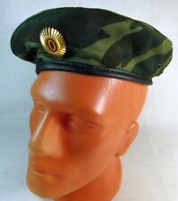 Original Russian Army Camo Beret with Metal Badge New Size 59 cm
