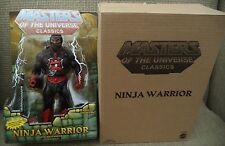 MASTERS OF THE UNIVERSE CLASSICS NINJA WARRIOR W/ BROWN MAILER CHF06 2014 *NEW*