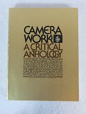 Jonathan Green  CAMERA WORK: A CRITICAL ANTHOLOGY  Illustrated   Aperture