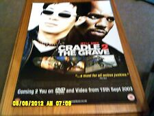 Cradle 2 the Grave (jet li, dmx) Movie Poster A2