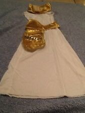 Cleopatra Queen of Egypt of the Nile Halloween Costume S 4-6X