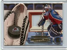 2000-01 PACIFIC PARAMOUNT PATRICK ROY GLOVE SIDE NET FUSIONS