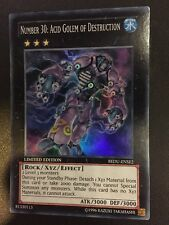 Number 30: acid golem of destruction redu-ense 2 yugioh carte édition limitée holo