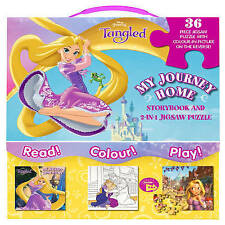 Disney Princess Tangled My Journey Home Storybook and 2-in-1 Jigsaw Puzzle by Pa