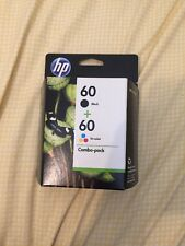 New Genuine HP OfficeJet 60 Black and Tri-Color Ink Cartridges Combo-pack