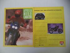 advertising Pubblicità 1989 MOTO APRILIA PEGASO 125