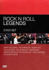 [NEW] 3DVD: ROCK N ROLL LEGENDS: VARIOUS ARTISTS