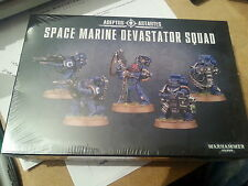 WARHAMMER 40K SPACE MARINE NEW DEVASTATOR SQUAD 28MM NEW & SEALED