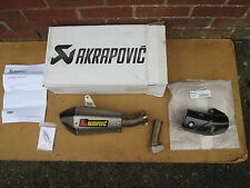KAWASAKI ZX10R 11-15 AKRAPOVIC TITANIUM/CARBON  ROAD-LEGAL SLIP-ON EXHAUST!!