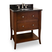 JEFFREY ALEXANDER VANITY WITH PREASSEMBLED TOP AND BOWL VAN080-T NEW - QTY 1