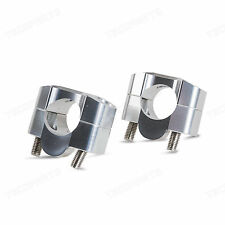28.6mm UNIVERSAL BAR MOUNT RISER ADAPTER FOR CONICAL TAPERED HANDLEBAR 1-1/8""
