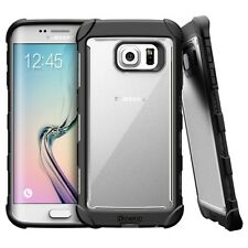 Affinity Shockproof Rugged Hybrid Case for Samsung Galaxy S6 Edge Black