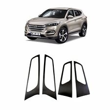 Door catch Point Molding Black Carbon Sticker For 2016 Hyundai Tucson