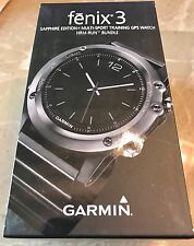 Garmin Fenix 3 Sapphire Performance Bundle GPS Watch 010-01338-25 MSRP$649.99