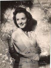 CARLA JOHNSON - Signed Small Photograph - FILM - RARE