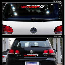 Car Reaer Windows Sticker Letter Decal Need For Speed Fit For VW Golf Nissan