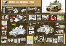 ◆ BRONCO CB35080 1/35 M1114 Up-Armored Tactical Vehicle