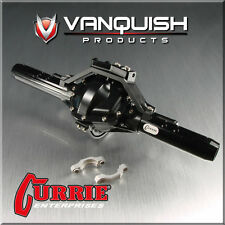 Vanquish VPS06602 Currie Rockjock SCX-10 Rear Axle Assembly Black AXIAL