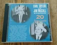 Earl Taylor and Jim McCall with Stoney Mountain Boys 20 Bluegrass Songs