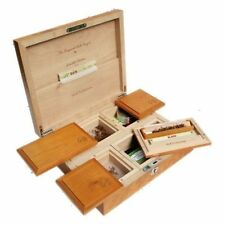 Wolf Productions T5 Ultimate Deluxe Wooden Rolling Box Lockable Quality Hardwood