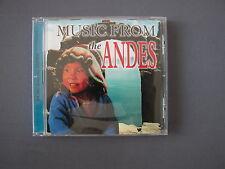 CD MUSIC FROM THE ANDES - Chakira Los Pantagoros - 16 Tracks Compilation