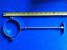 """Vaillant Glow worm Worcester Baxi Ferroli boiler flue pipe bracket 100mm 4"""""""