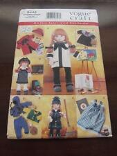 "Vogue Craft Very Easy Sewing Pattern 9442 18"" Doll Clothes Linda Carr"