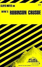 Robinson Crusoe by Cliffs Notes Staff (1976, Paperback)  Ships FREE Same Day!