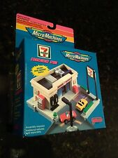NEW Micro Machines 7-11 Convenience Store GALOOB 1994 RARE NOS Advertising