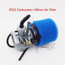 PZ22 Carb Carburetor 38mm Air Filter For 110cc 125cc ATV Quad Go Kart Dirt Bike