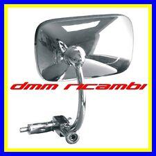 Specchietto retrovisore Moto universale cromato End Bar Cafè Racer Scrambler