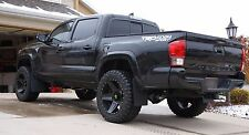 "2016+ Toyota Tacoma Mud Flaps, ROKBLOKZ no drilling, NO RUBBING with 35"" tires!"