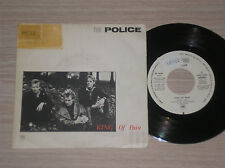 "THE POLICE - KING OF PAIN - 45 GIRI 7"" PROMO SINGLE-SIDED SPAIN"