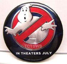 Promo Button - GHOSTBUSTERS Button - In Theaters July 2016 - Limited Edition