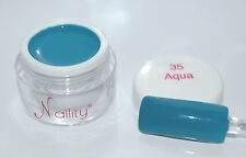 Color Gel UV/CCFL/LED  7ml  Aqua n°35 Naility  USA gel de couleurs