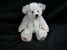 "World of Miniature Bears 5"" Mohair Bear Millennia-2002 #2002 Collectible Bear"