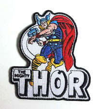 "Thor  Comic Book 4"" Embroidered Patch- FREE S&H (DMPA-54)"