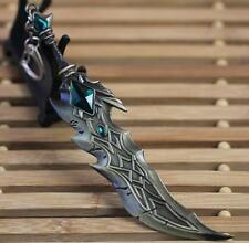 "DZ707 On Sale 6.3"" League of Legends LOL KingTryndamer Keychain Keyring Pendant#"