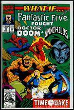 Marvel Comics WHAT IF Vol 2 #35 Fantastic Five Fought DR Doom Annihilus NM- 9.2
