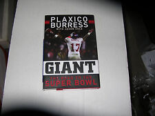 Giant: The Road to the Super Bowl by Plaxico Burress (2008) SIGNED 1st/1st