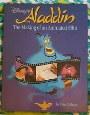 Disney's Aladdin The Making Of An Animated Film Book by John Culhane 1992 1st ed