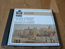 Kuijken - Haydn : Symhponies Nos. 88, 89 & 92 - CD Virgin Germany 1992