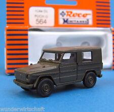Roco Minitanks H0 564 LKW GL STEYR PUCH G Geländewagen Wolf Oliv ÖBH HO 1:87 OVP