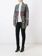 ISABEL MARANT DIANA HOUNDSTOOTH TWEED JACKET COAT RARE AND EXCLUSIVE FR 36 UK 8