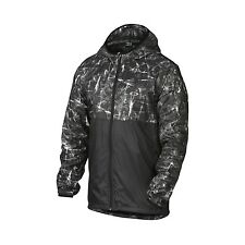 NEW - OAKLEY Drafter Full Zip Men's Black Windbreaker Jacket - 412054 - Size XL