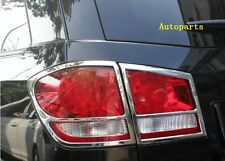 For Dodge Journey FiAT Freemont 2012-2017 Chrome Rear taillight lamp cover trim