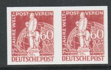 Germany Berlin 3213 - 1949 UPU IMPERF PAIR  - a Maryland FORGERY unused